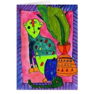 Leopard by Jullien Jollon, Age 12 Card