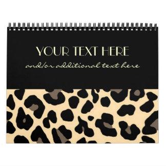 Leopard Calendar