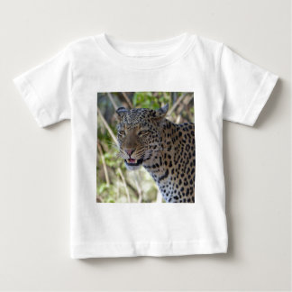 Leopard Cat Animal Africa Jungle Country Destiny Baby T-Shirt