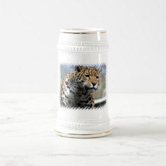 Leopard Cat Beer Mug