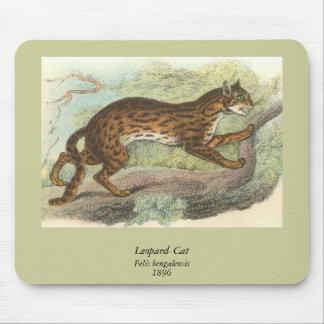 Leopard-Cat, Felis bengalensis Mouse Pad