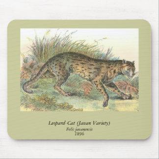 Leopard-Cat (Javan Variety) Felis javanensis Mouse Pad