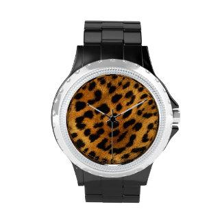 Leopard Cheetah Animal print watch