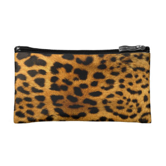 Leopard Cheetah Makeup Bag