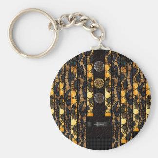 Leopard Cheetah Bling Keychain