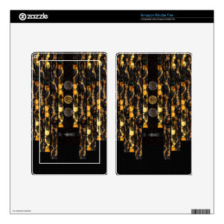 Leopard Cheetah Bling Kindle Fire Skins