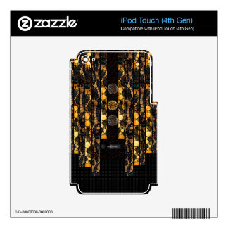 Leopard Cheetah Bling Skin For iPod Touch 4G