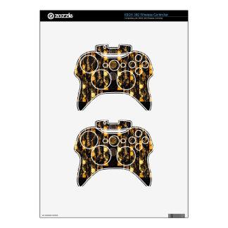 Leopard Cheetah Bling Xbox 360 Controller Skin
