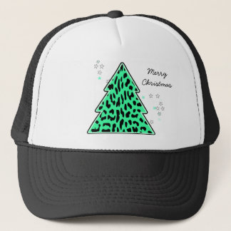 Leopard cheetah Christmas Tree Hat