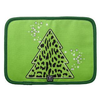 Leopard cheetah Christmas Tree Planner