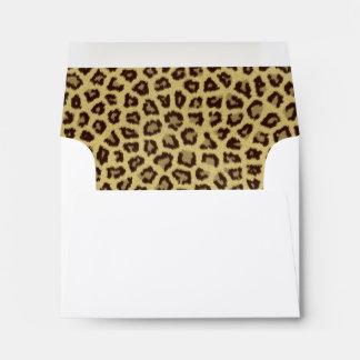 Leopard / Cheetah Print Envelope