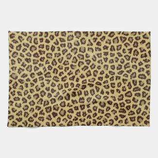 Leopard / Cheetah Print Hand Towels