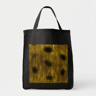 Leopard Cheetah Print Patterned Grocery Tote Bag