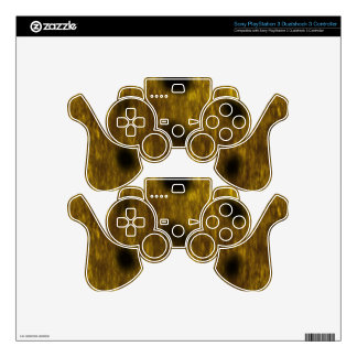 Leopard Cheetah Print Patterned PS3 Controller Skins