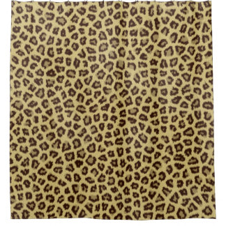 Leopard Cheetah Shower Curtains | Zazzle