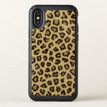 Leopard / Cheetah Print Speck iPhone X Case