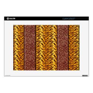 Leopard & Cheetah Wild Animal Print Skin For Laptop