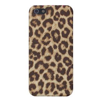 Leopard Chic Print Heart Case iPhone 5 Case