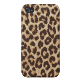Leopard Chic Print iPhone 4 Case