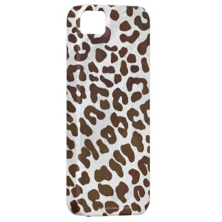 Leopard Chocolate Print iPhone 5 Covers