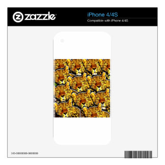 LEOPARD COLLAGE.jpg Skins For iPhone 4S