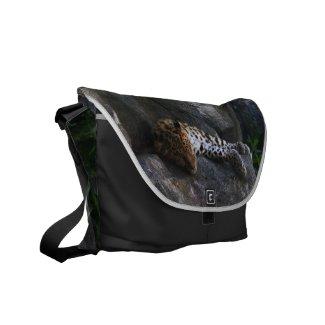 Leopard Courier Bags