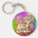Leopard Cub Keychain
