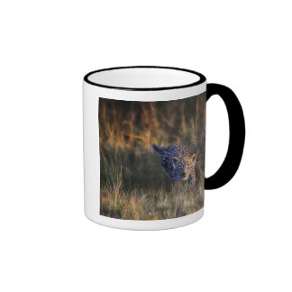 Leopard Cub Panthera Pardus) as seen in the Ringer Coffee Mug