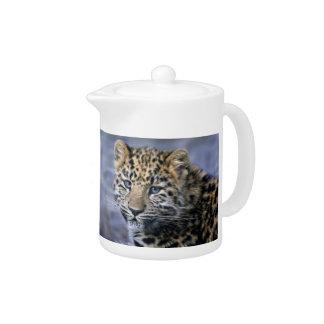Leopard Cub Teapot