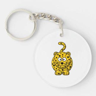 Leopard Cute Cartoon Animal Keychain
