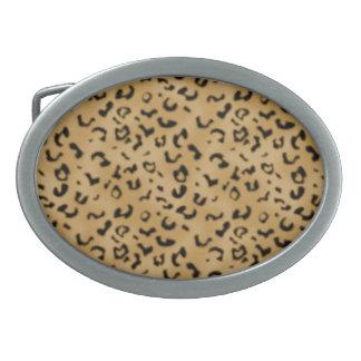 Leopard Design Belt Buckle