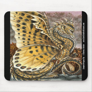 Leopard Dragon Fly Mousepad