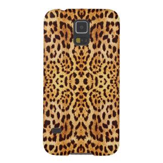 leopard elegant fur cases for galaxy s5
