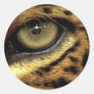 Leopard Endangered Species Stickers