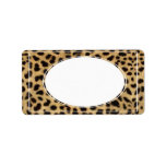 leopard envelope address label