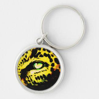 Leopard Eye Keychains