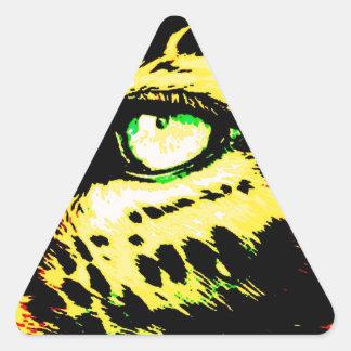 Leopard Eye Sticker