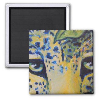leopard eyes magnet