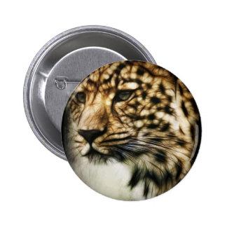Leopard face button