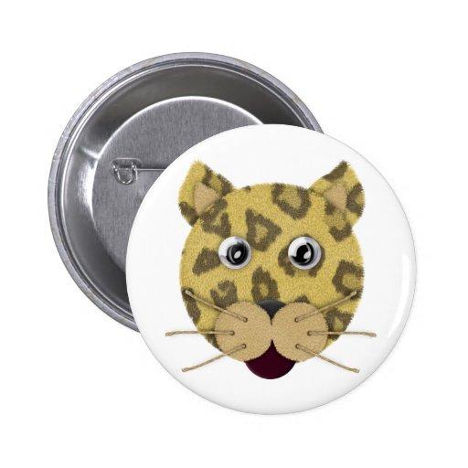 Leopard Face Buttons