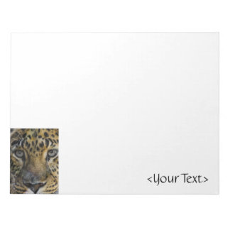 Leopard Face of Hunger Notepad