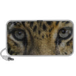 Leopard Face of Hunger Travelling Speakers