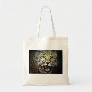 Leopard Face Tote Bag