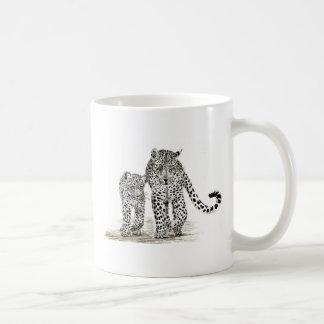 Leopard Family Mug