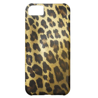 Leopard Fur Animal Print Cover For iPhone 5C