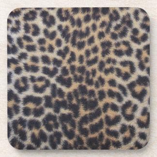 Leopard Fur Beverage Coaster