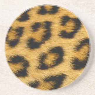 Leopard Fur Coasters