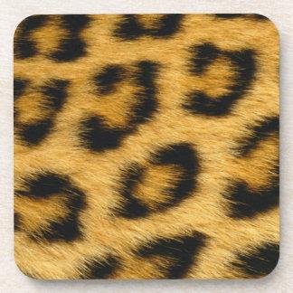 Leopard Fur Cork Coasters