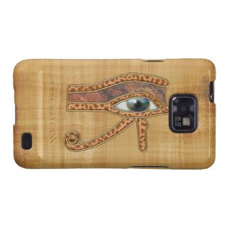 Leopard Fur Egyptian Eye of Horus Samsung Galaxy Samsung Galaxy S2 Case
