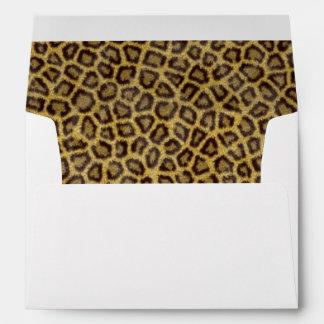 Leopard Fur Envelope